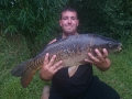 15lb Mirror caught by club member Steve Wright