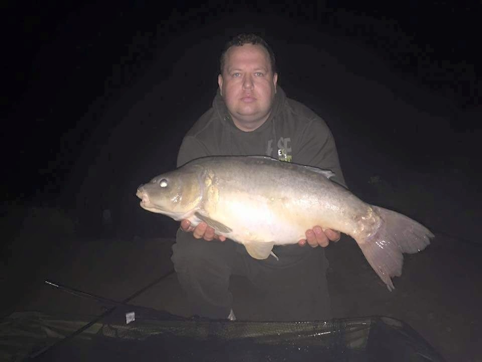 Phillip Shave with an 18lb from Block Fen A