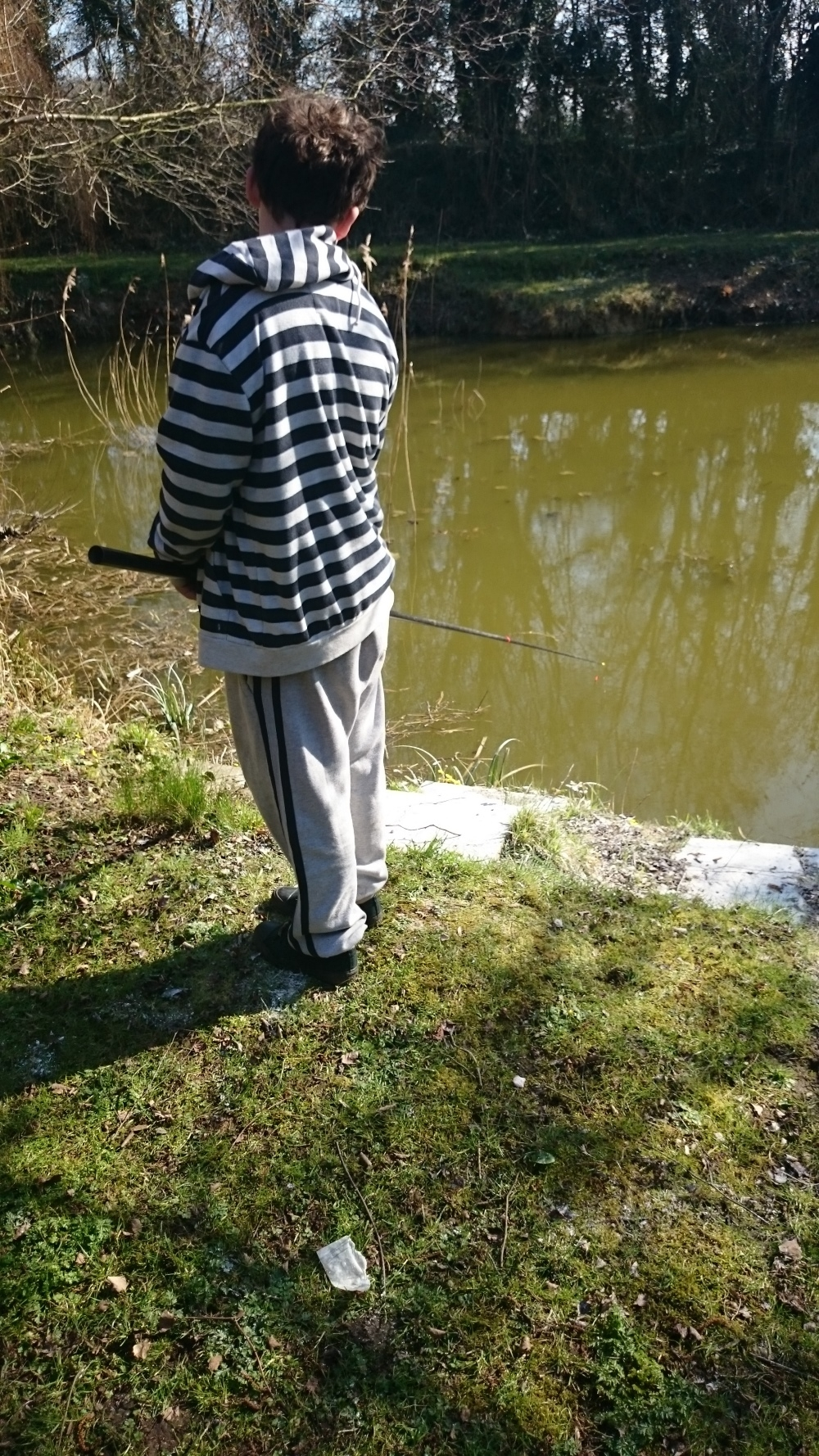 Becky Pope, Andersons Lake, March 2016