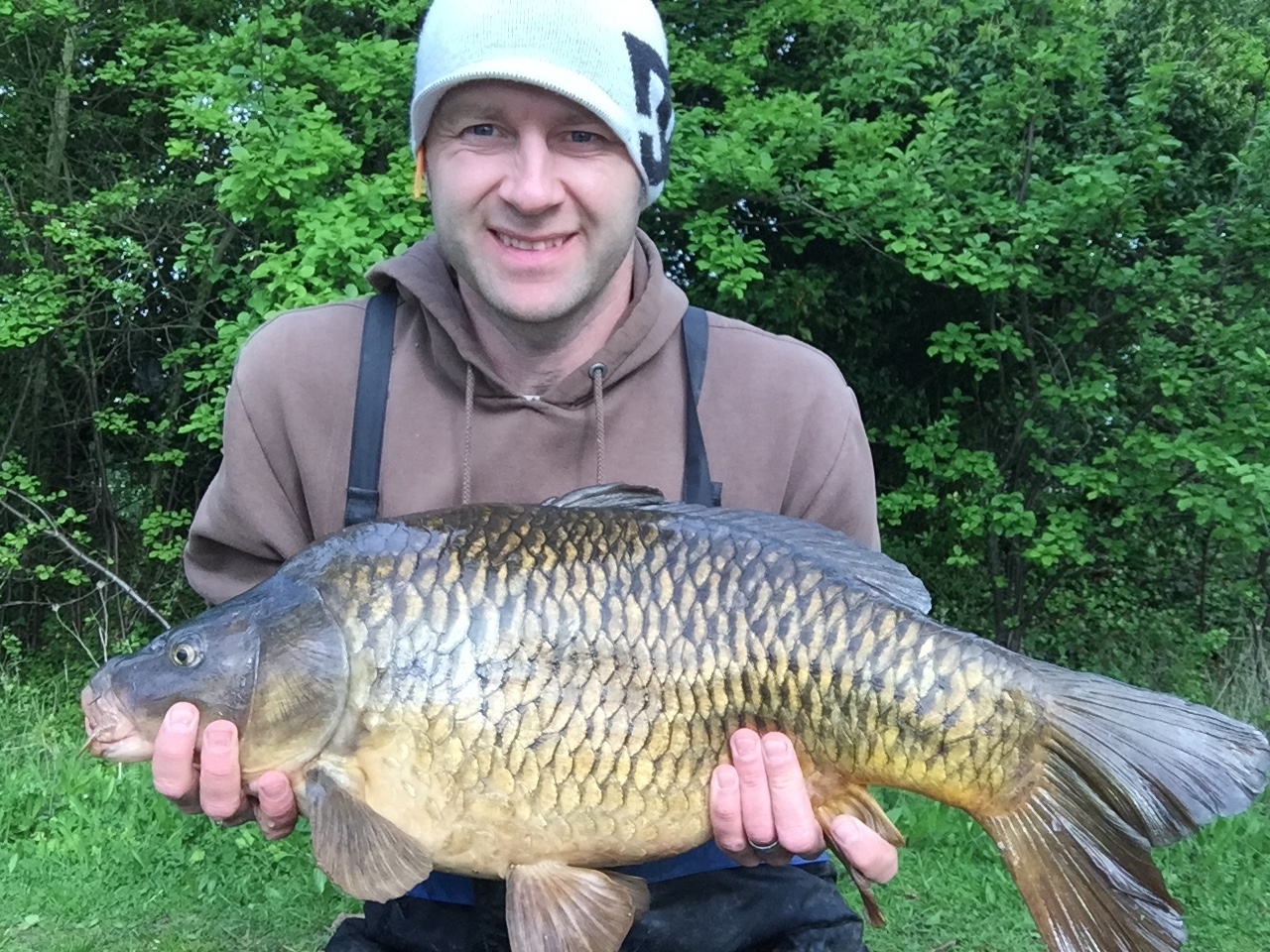 Colin Adams caught this 23lb Common Carp at Barnwell on Sunday Morning (10th May 2015)